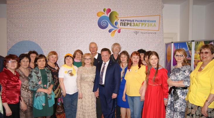 Волнующее мероприятие состоялось в Казани 24 апреля 2016 года — празднование 20-летия казанской Дистрибьюторской организации ТЕНТОРИУМ