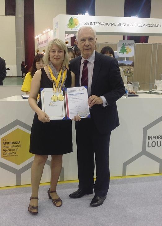Компания ТЕНТОРИУМ® награждена двумя золотыми медалями на Апимондии — 2015 в Южной Корее! Это наше общее достижение, в очередной раз подтверждающее высочайший уровень развития в отрасли