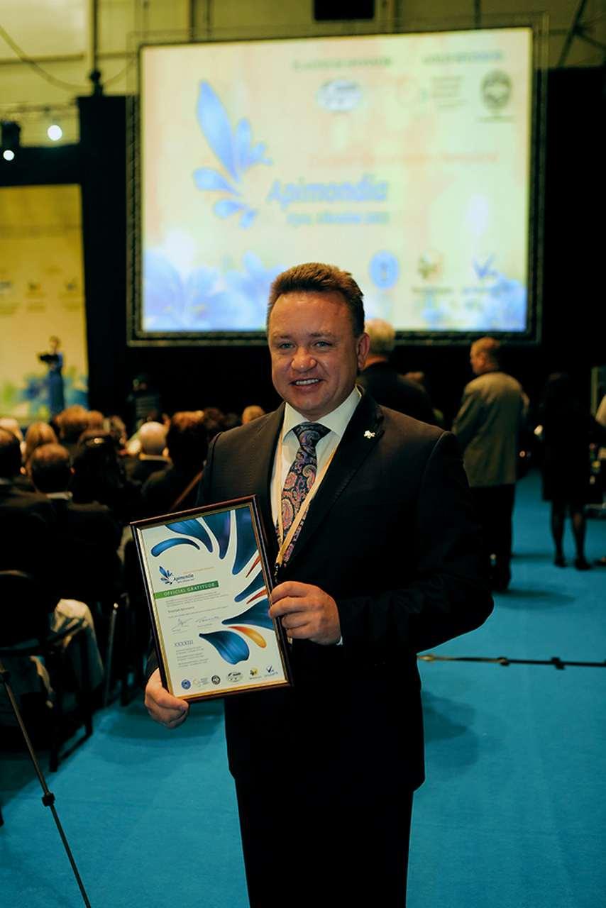 Медовый караван добрался до своей финишной точки в город Киев, где 29 сентября открылся 43 Конгресс Всемирной пчеловодческой ассоциации Апимондия.