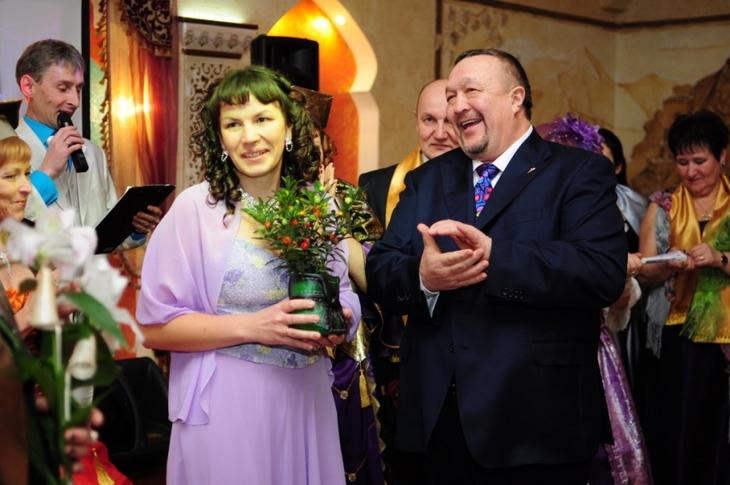 Любовь Мурашова, получившая статус Золотого Менеджера из рук Президента Компании, поделилась своим восторгом
