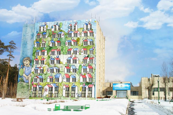 Огромное полотно в восемь этажей станет символом Спонсорства, ведь этот год объявлен Президентом и Основателем компании ТЕНТОРИУМ® годом Спонсорства.
