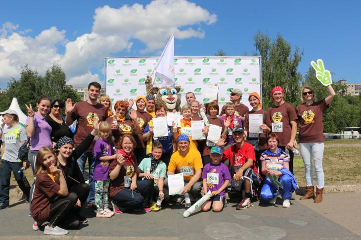 В субботу, 4 июня стартовал пятый юбилейный «Зелёный марафон», инициатором которого выступает Сбербанк. Команда компании ТЕНТОРИУМ®впервые приняла участие в этом уникальном социально-спортивном проекте как партнёр и как активный участник марафона.