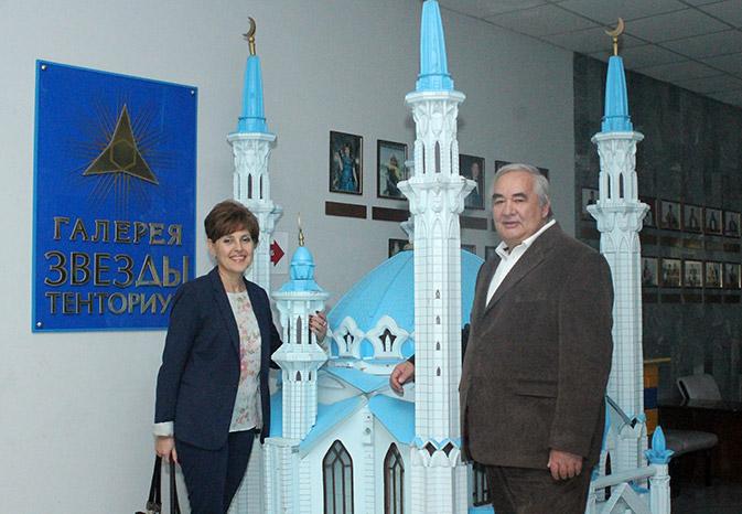Добрая слава о ТЕНТОРИУМ пришла в Словакию