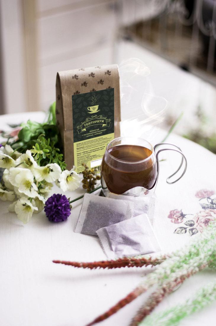 Согрейте гостей дыханием лета. Чай «Заполье. Гармония»