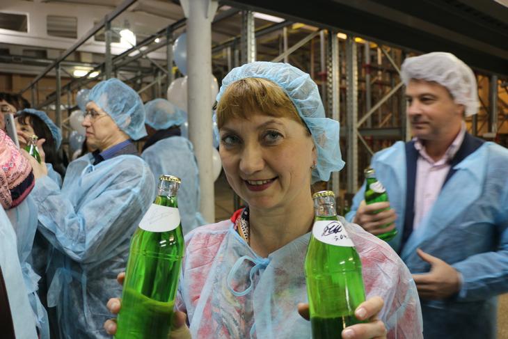 15 апреля 2016 года, в Перми состоялась торжественная церемония запуска первой линии завода безалкогольных напитков ТЕНТОРИУМ SPA