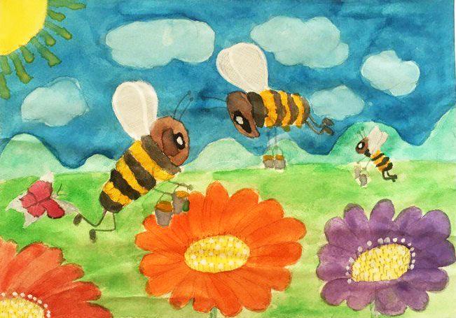 Завершился очередной конкурс детского рисунка «СОХРАНИМ ПЧЕЛУ - СОХРАНИМ ПЛАНЕТУ
