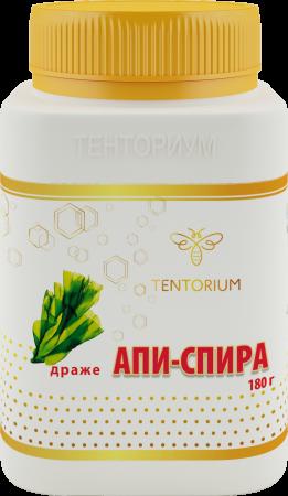 Апи-Спира (180 г) Полноценный витаминный комплекс объединил в себе одну из самых древних водорослей на Земле и ценнейшие апикомпоненты.