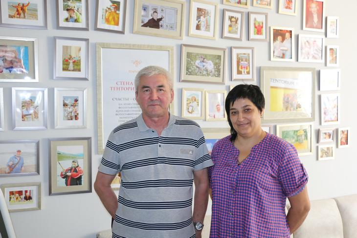 Талгат Касенов иОльга Бугрова вТЕНТОРИУМ SPA В Казахстане открылся новый Сервисный центр