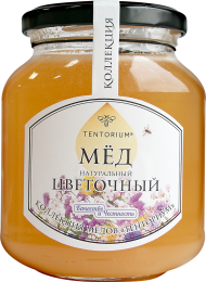 """Входящий в """"Коллекцию ТЕНТОРИУМ"""" мёд с коричными кислотами, обеспечивающими отличный антибактериальный эффект. Фитонциды - лучший друг семьи, заботящейся о здоровье!"""