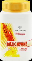 В этой медовой композиции традиционные свойства древнего продукта в сочетании с новационными разработками ТЕНТОРИУМ работают на восстановление после инфекционных и других заболеваний и в послеоперационном периоде. В семейной упаковке.