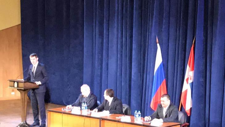 Представление нового губернатора Максима Решетникова