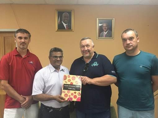 ТЕНТОРИУМ® провёл встречу в Министерстве сельского хозяйства республики Тринидад и Тобаго