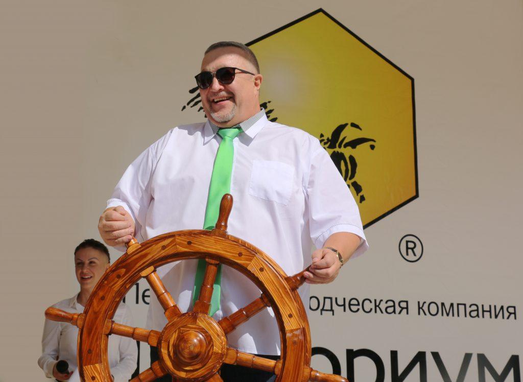 Открытие Дистрибьюторского фестиваля ТЕНТОРИУМ® «Алые паруса»!