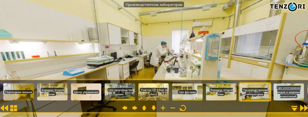 Виртуальный тур по реальному производству