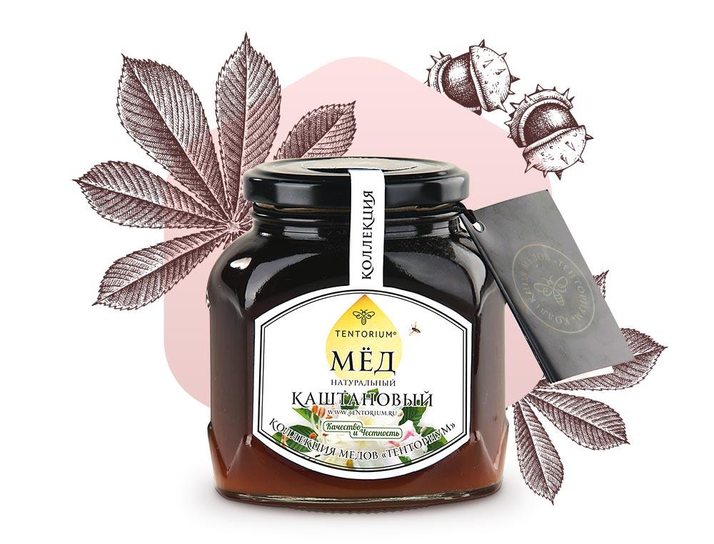 Богатство каштанового мёда