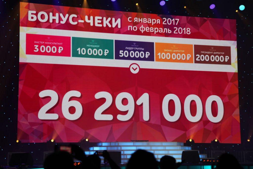 Триумф лучших представителей Дистрибьюции ТЕНТОРИУМ®