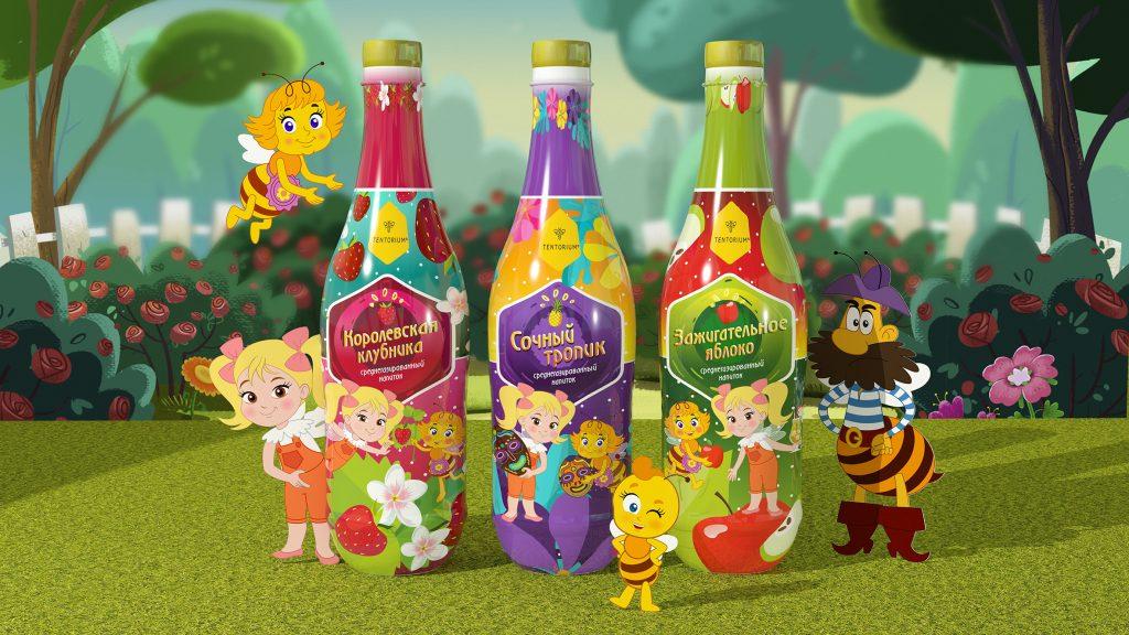 Этой осенью ТЕНТОРИУМ® запускает серию продуктов для детей «Пчелография»