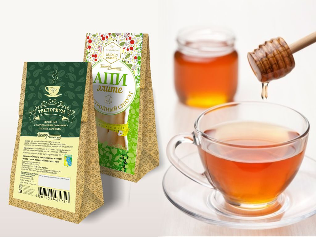 Чай ТЕНТОРИУМ® пьёшь – до ста лет доживёшь