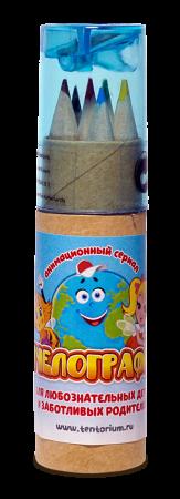 """Набор карандашей """"Пчелография"""" 6 шт. 175 руб."""