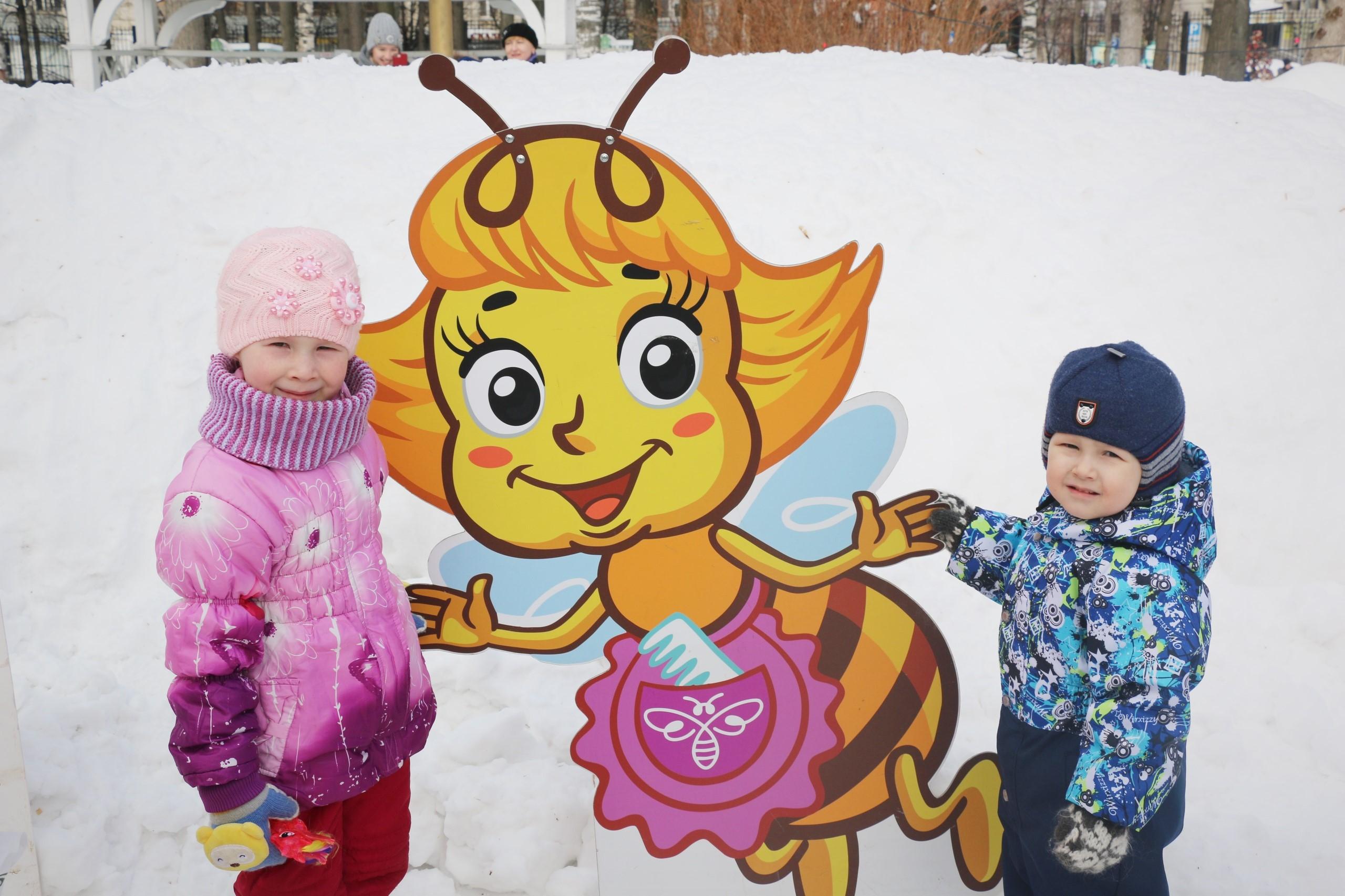 Раздольная Масленица вместе с героями «Пчелографии»