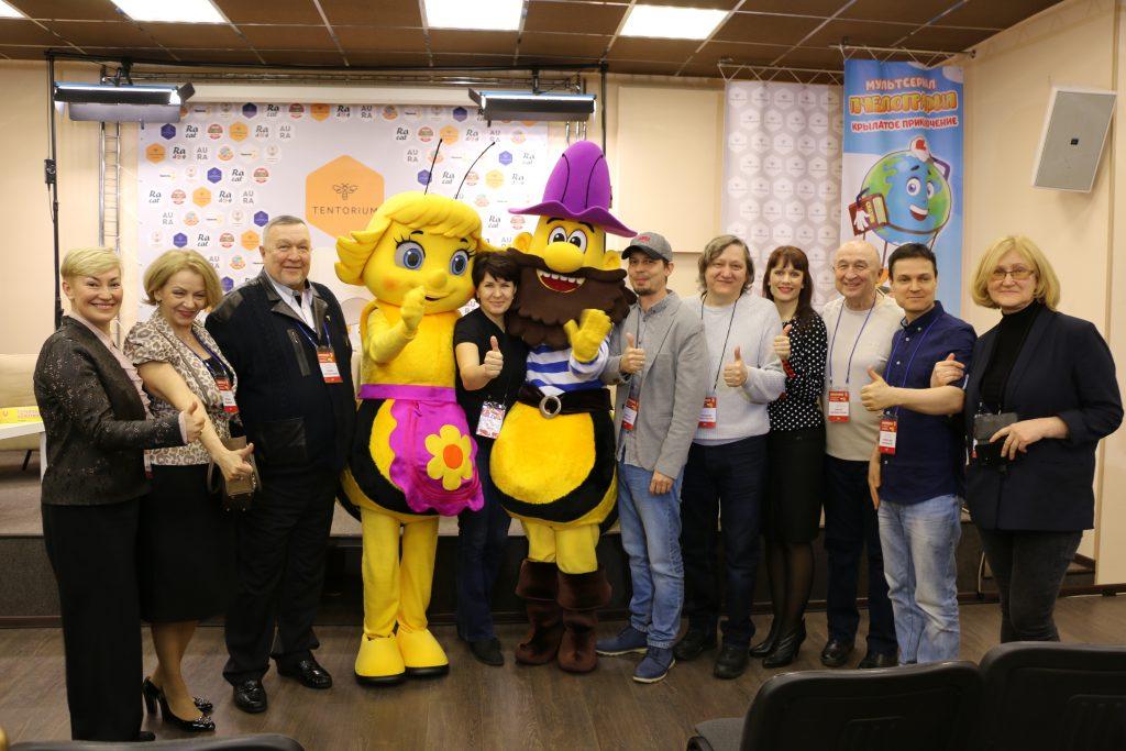 Команда «Пчелографии» встретилась с журналистами