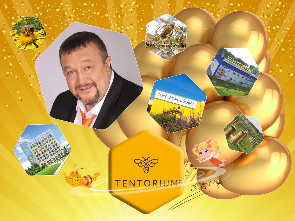 День рождения ТЕНТОРИУМ®: счастье строим своими руками