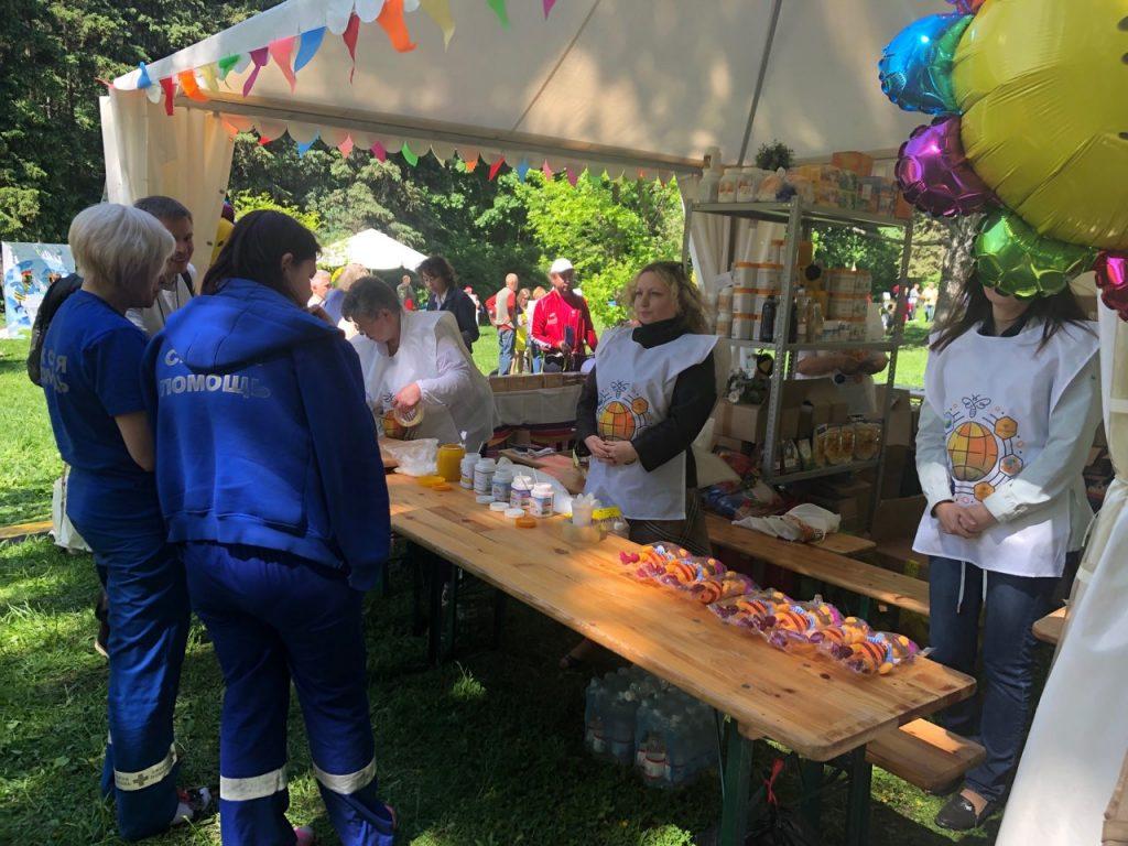На фестивале «Пчелографии» работники скорой помощи познакомились с ТЕНТОРИУМ®