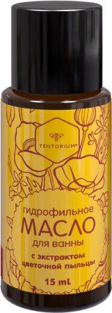 Гидрофильное масло для ванны с экстрактом цветочной пыльцы (15 мл)