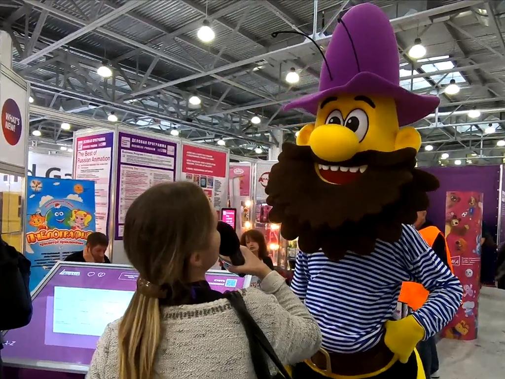 Герои «Пчелографии» представлены на международной выставке детских брендов