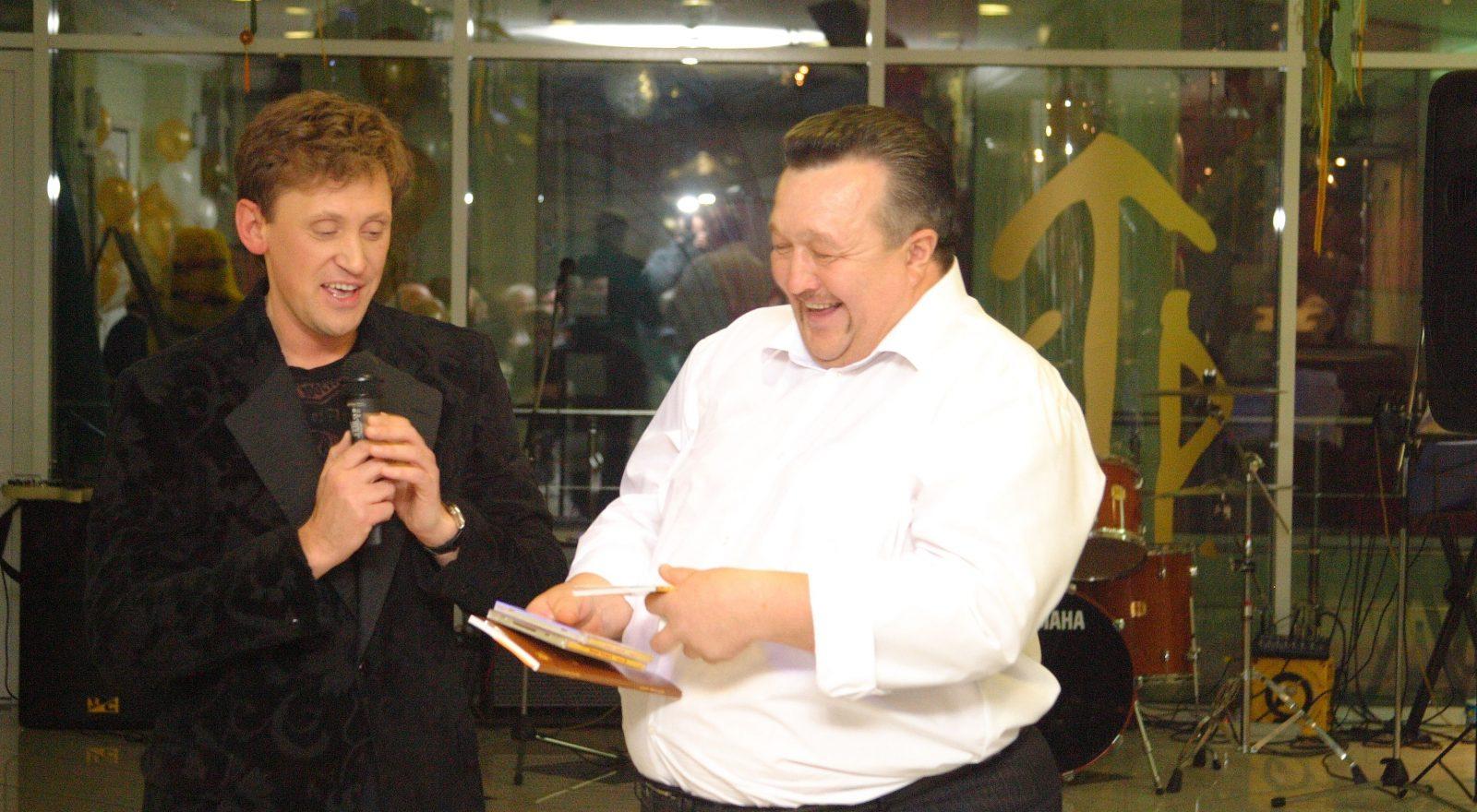 Актер С. Дроботенко и Р. Хисматуллин