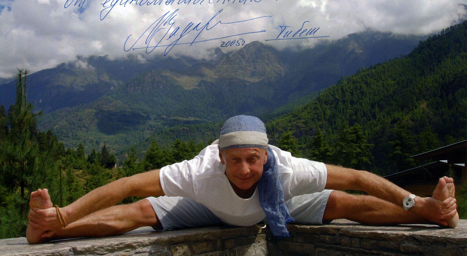 Задорнов М., сатирик,  в Тибете, 18.10.2005