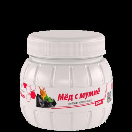Мёд с мумиё (300 г) 1337 руб.