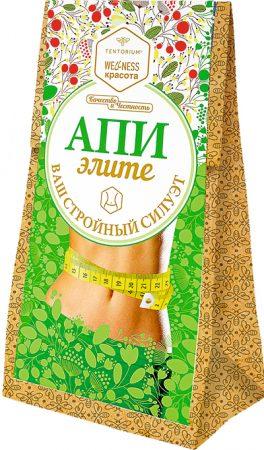 """Зелёный чай с растительными экстрактами """"АпиЭлите"""", 100 г 1448 руб."""
