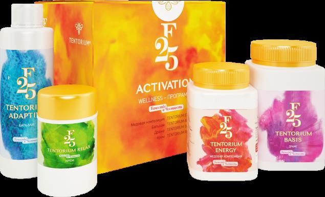 "Wellness-программа ""F25 Activation"" 8415 руб."
